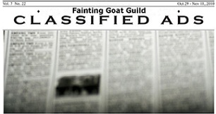 Classifieds - Everything Goat